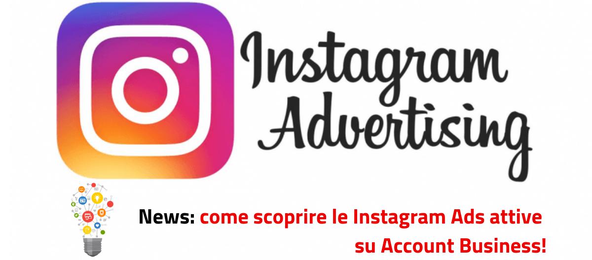 Novità Instagram: come scoprire le Instagram Ads sponsorizzate  dei tuoi competitors