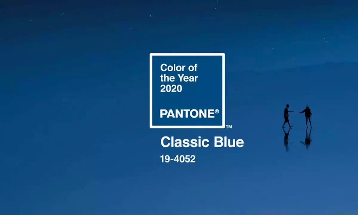 Colore dell'anno 2020 Pantone: Classic Blue
